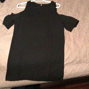 Dresses & Skirts - shoulderless t-shirt dress